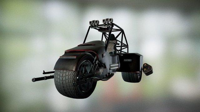 Judge Dredd Lawmaster 3D Model
