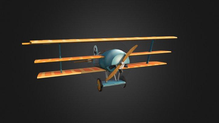 1DAE13_WW1_Plane_Kuppens_Cedric 3D Model