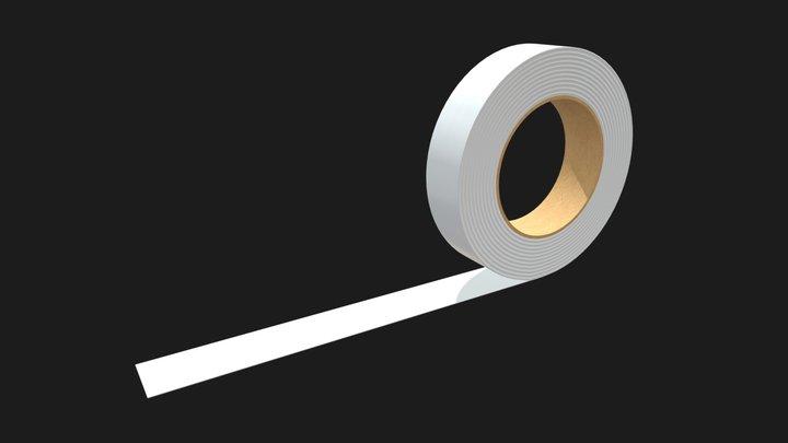 Duct tape mockup 1 3D Model