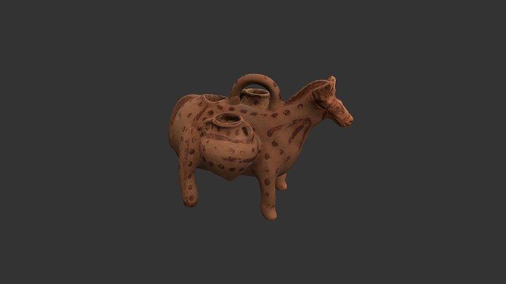 Askos zoomorfo púnico (finales del s. V a.C.) 3D Model