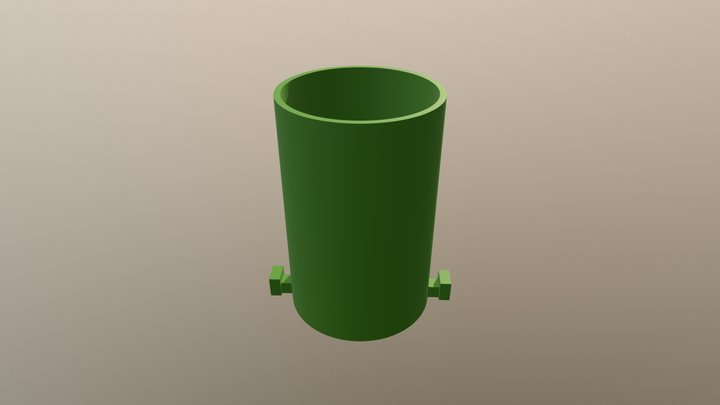 pencil holder - module 3D Model