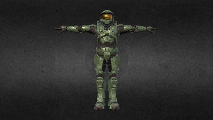 Master Chief (Halo 3) 3D Model