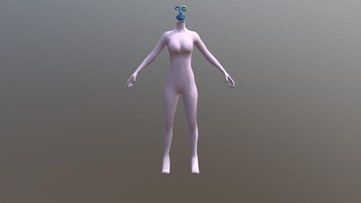 Mona 11-11 3D Model