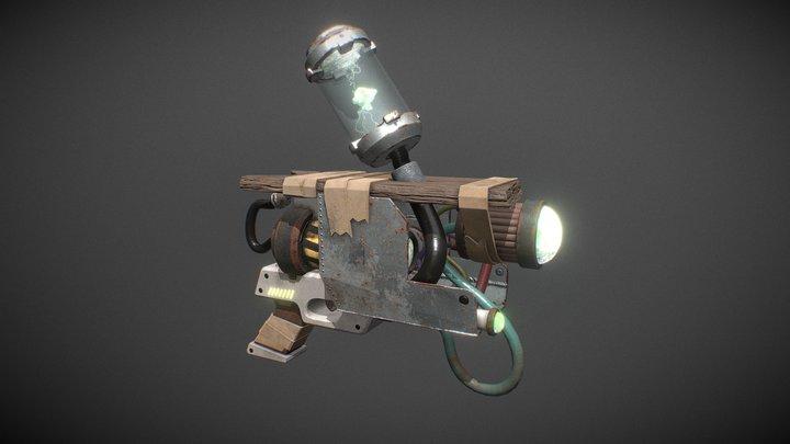 Rick's Portal Gun Prototype 3D Model