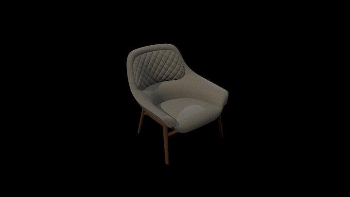 Hanna Armchair 3D Model
