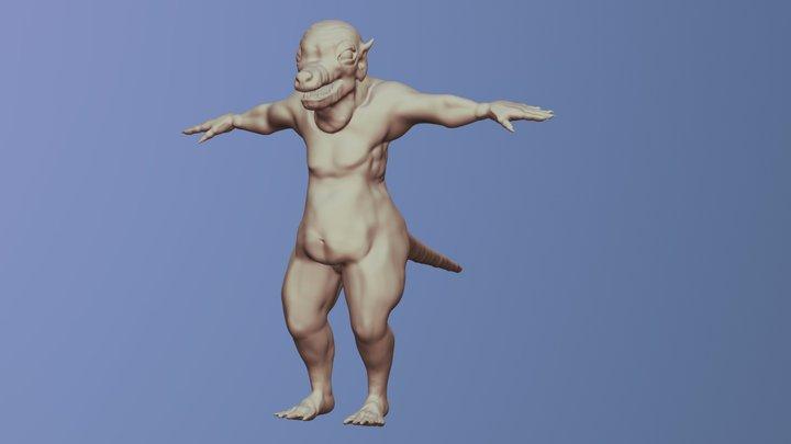 Ratthing 3D Model