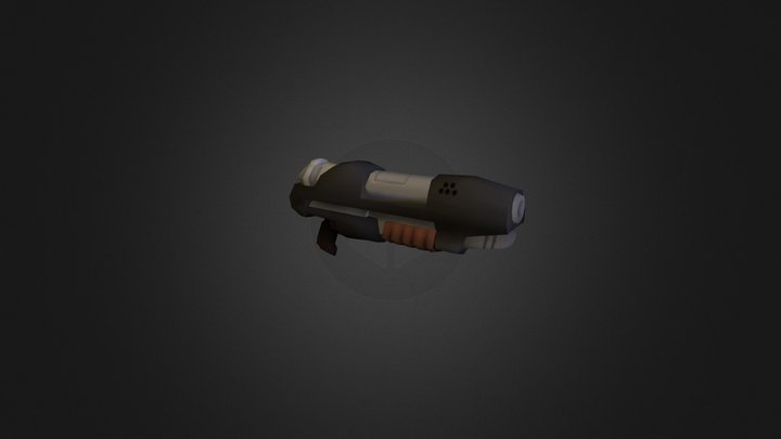 WeaponModel 1 - Spartans in Candyland 3D Model