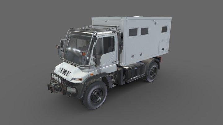 Motorhome Unimog U500 3D Model