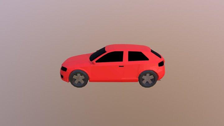 Audi a3 2003 model 3D Model