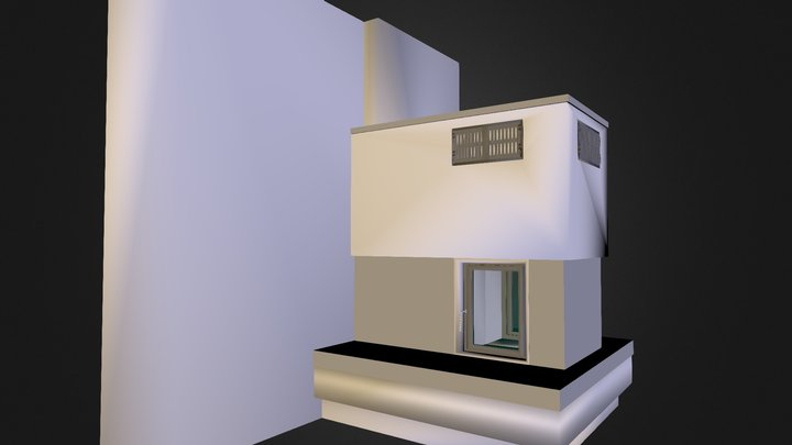 Fireplace-tunnel 3D Model