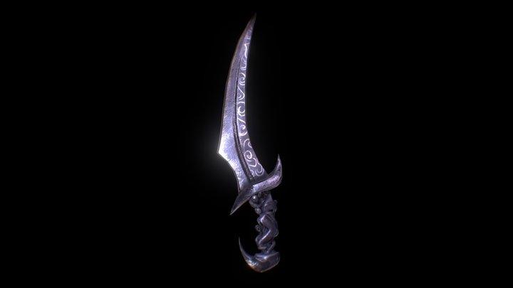 Blade of Woe for Skyblivion 3D Model