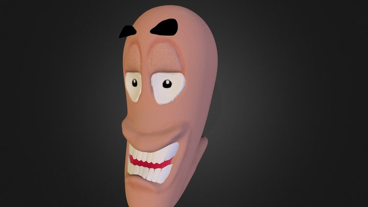 Worms Worm 3D Model