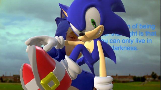 Sonic 3D Model