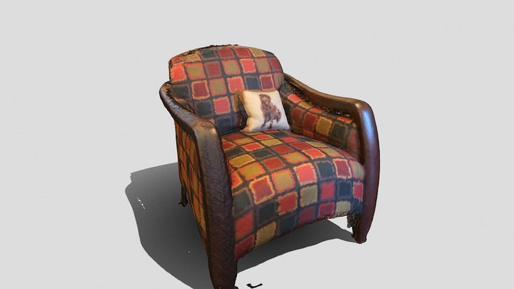 chair scanned with Lookout 3D Model