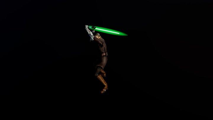 Jedi Master Cin Dralligы Msh 3D Model