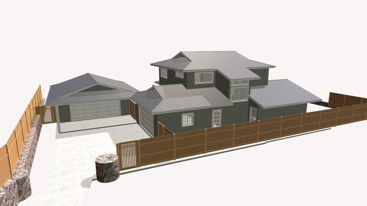 2018 GARAGE PLAN 4 3D Model