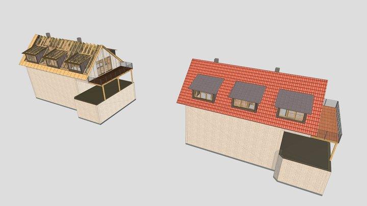 Aufstockung München 3D Model