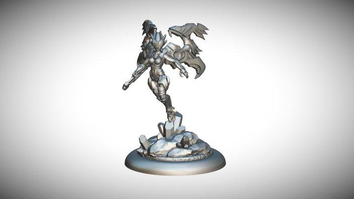 Star Scrappers: Battledrill / Bioss Domina 3D Model