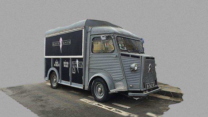Citroën H Van 3D Model