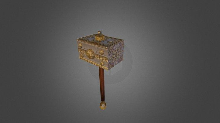 Luxurious Hammer 3D Model