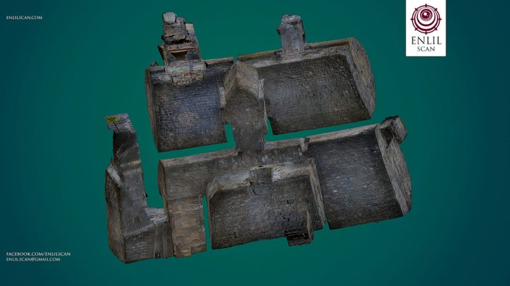 Medieval Dungeon - Photogrammetry 3D Model