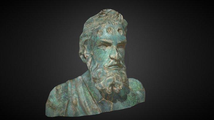 Posejdon's head 3D Model