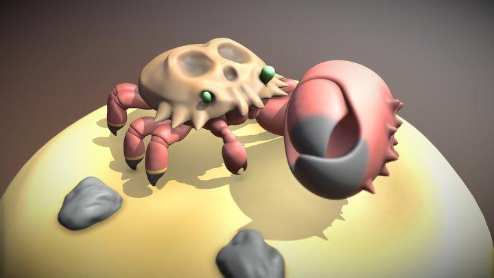 Krabby - Breath of Fire III 3D Model