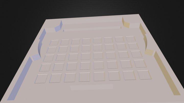 Сборка потолка 3D Model