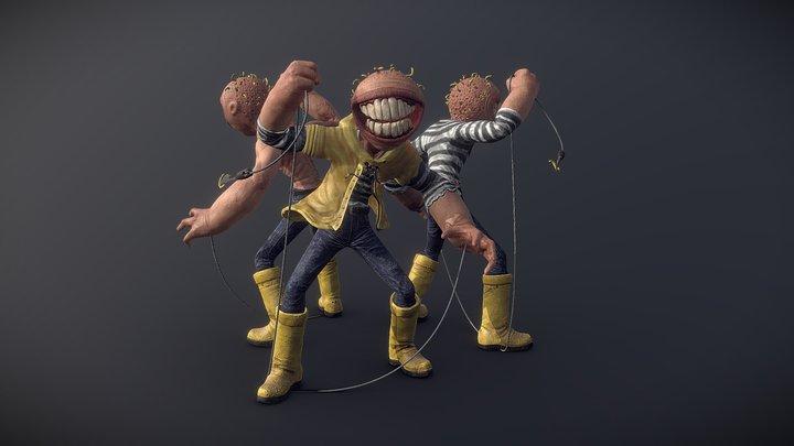 FISHERMENS 3D Model