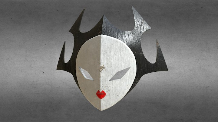 Ashi's Mask 3D Model