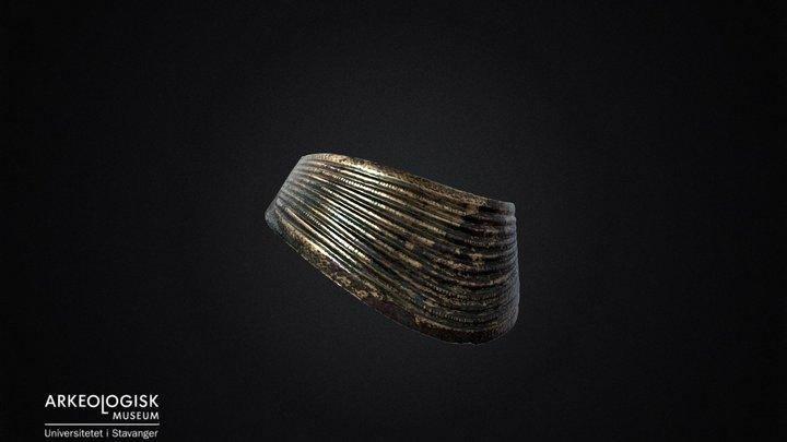 Bronze age necklace. S1272 3D Model