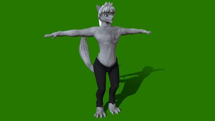 Sergal 3D Model