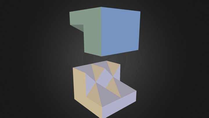 Peça 06 - autora: Priscila Ferreira 3D Model