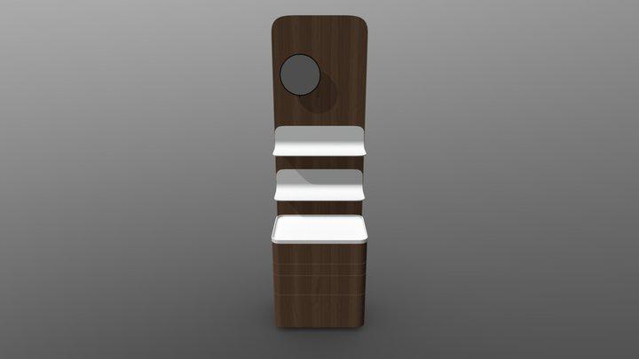 Foglia Panel Rafli Aynali - Moka Oak 3D Model