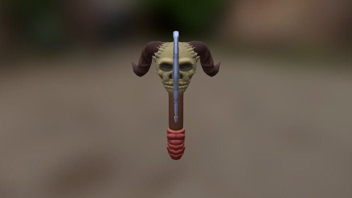 Battleax Ubfixed 3D Model