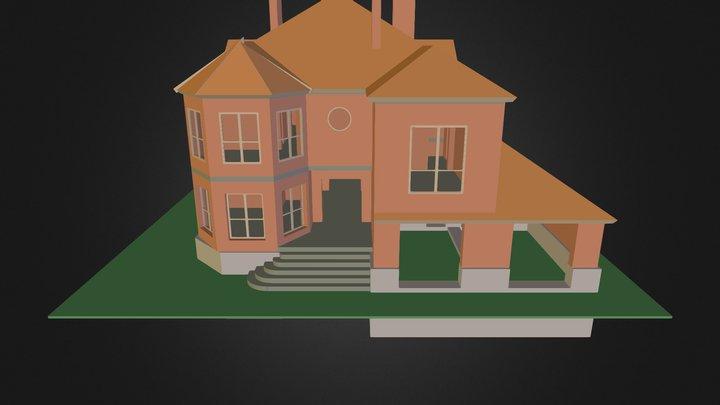 Дача 3D Model
