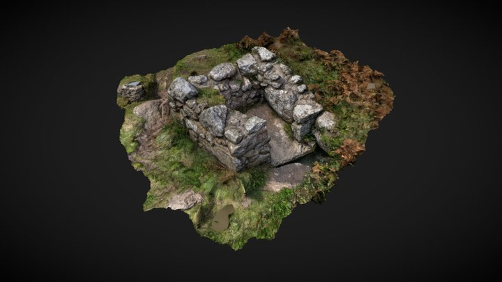 St Levan's Well - Porthchapel - Mobile 3D Model