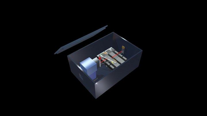 Spectrophotometer Design 3D Model