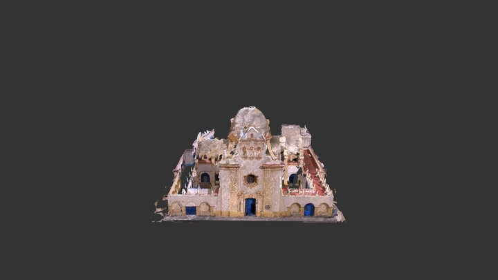 2017 2018 TFG Iglesia 3D Model
