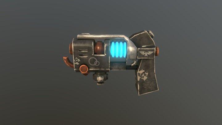 Plasma Gun warhammer 40k 3D Model