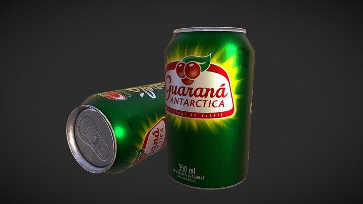 Guaraná Antarctica - PBR Game Ready 3D Model