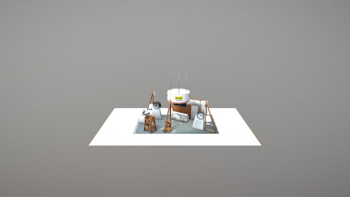 Stand Test 3D Model