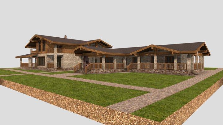 Дом 5 3D Model
