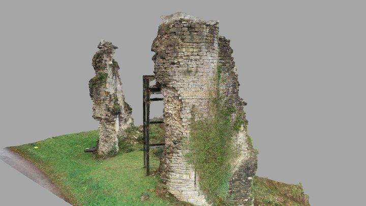 Château-Chalon (Jura) 3D Model