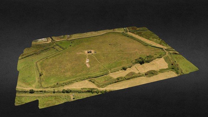 Aerial Landscape -DigVentures 3D Model