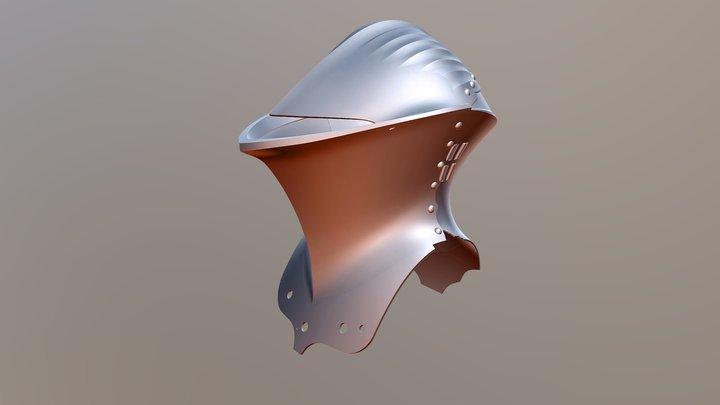 Stechhelm_Baseshape Test 11 3D Model