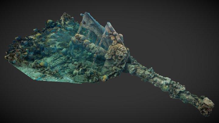 Windjammer Bow 3D Model