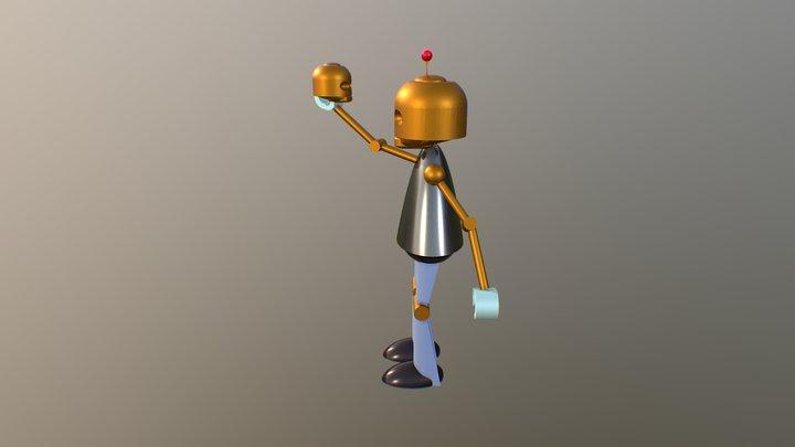 denem bot 3D Model