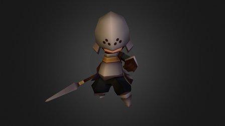 Kingdom Soldier 3D Model