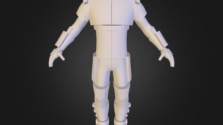 Clone Soldier 3D Model